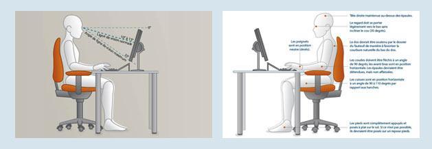 comment rendre mon poste de travail plus confortable actineo. Black Bedroom Furniture Sets. Home Design Ideas