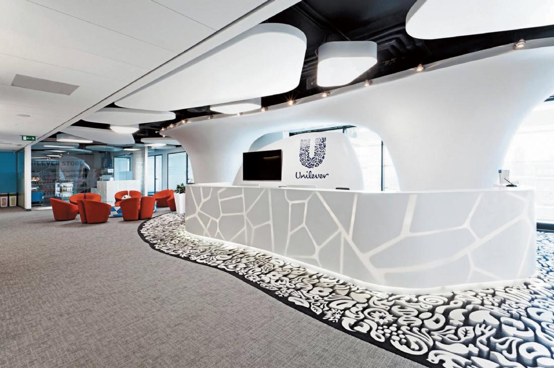 Décoration Murale Bureau Entreprise aménager un espace d'accueil | actineo